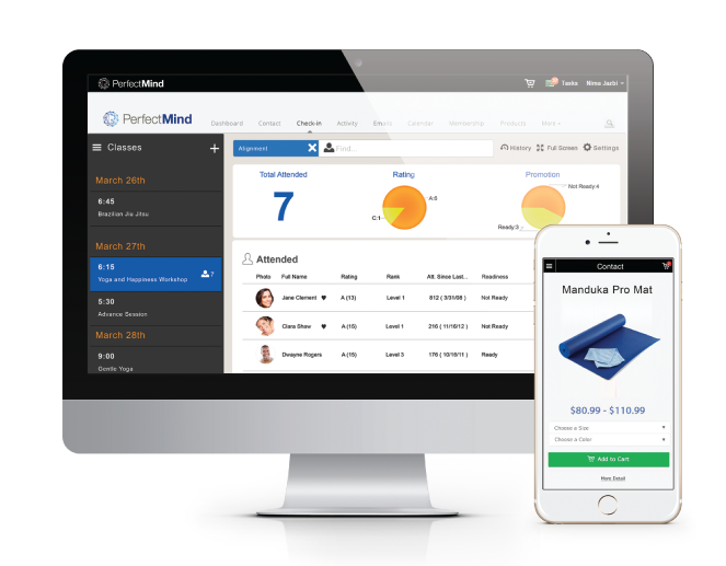 fitness and yoga studio management software