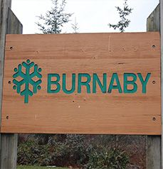 burnaby sign