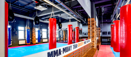 martial arts school interior